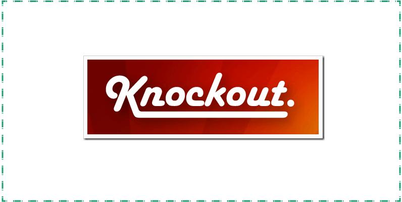 Knockout js framework
