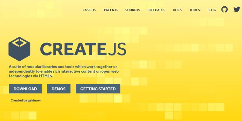 createjs framework