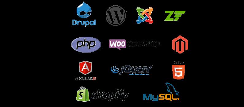 Sistemas para gerenciar conteúdos e Plataformas de e-Commerce