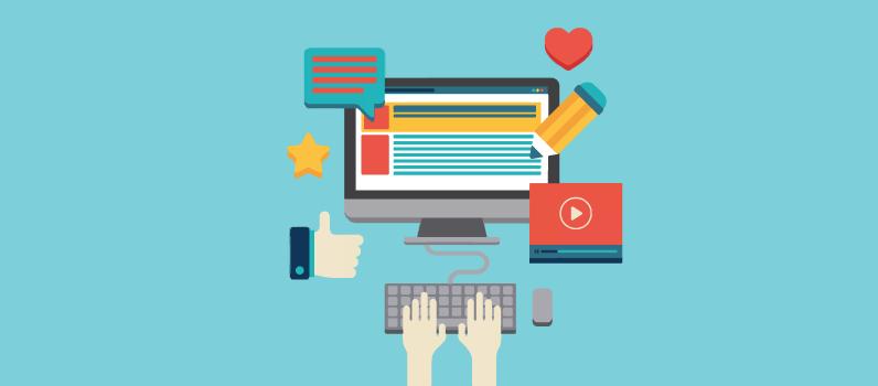 dicas para criar e coletar conteúdo