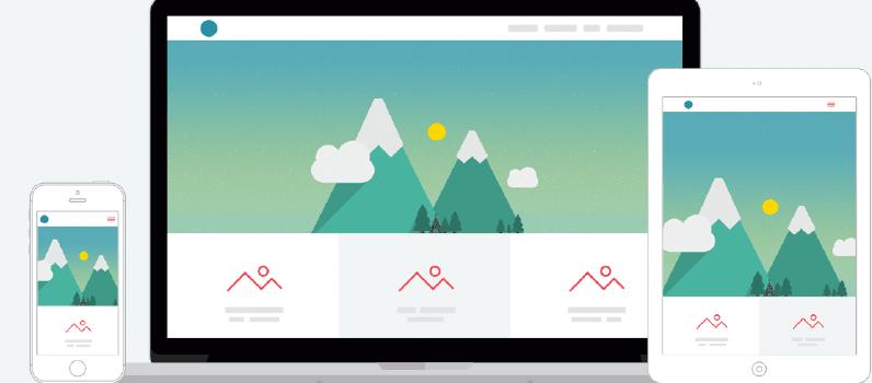 Sites em WordPress tem Design Responsivo