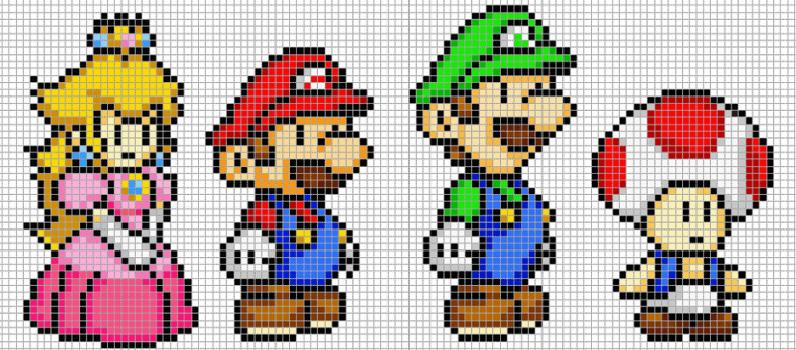 começando com pixel art