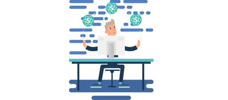 o que é o framework react js