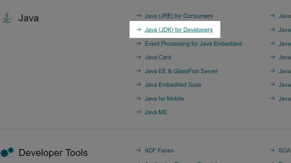 java jdk developer