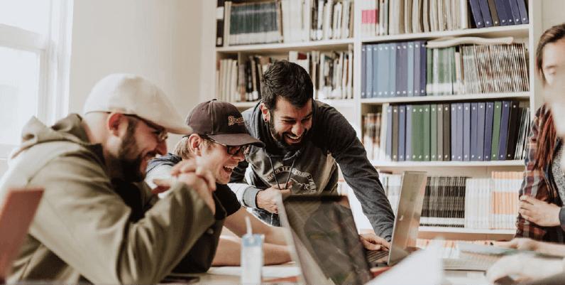 Trabalhe em projetos com outras pessoas