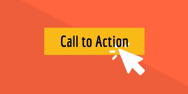 Faça uma chamada para ação poderosa