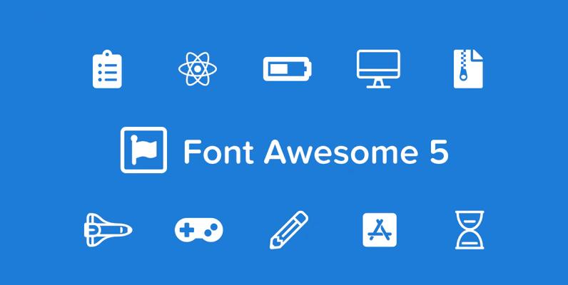 como instalar font awesome