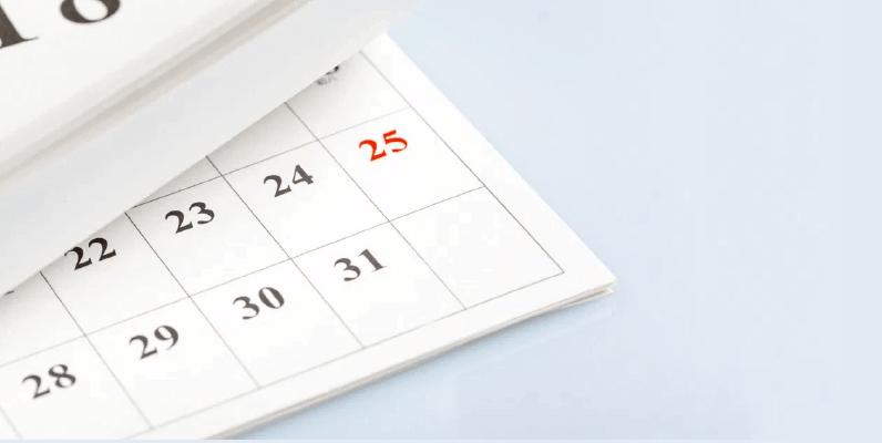 conclusao calendario com css grid