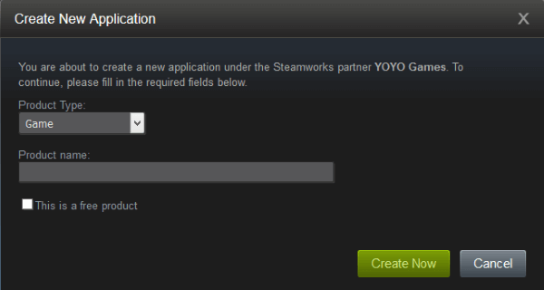 como se cadastrar no steamworks