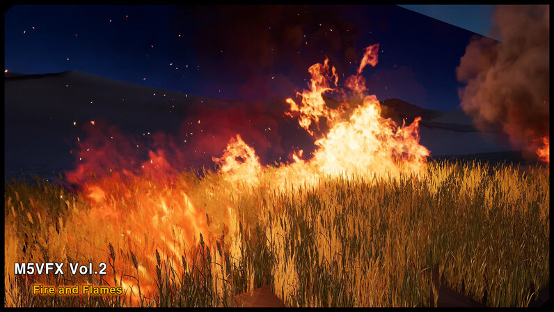 M5 VFX Vol2. Fire and Flames