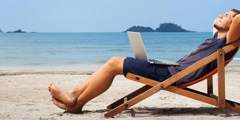 Se desejar pode trabalhar fora do Brasil