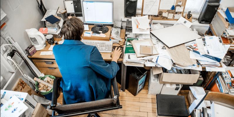 organize seu local de trabalho