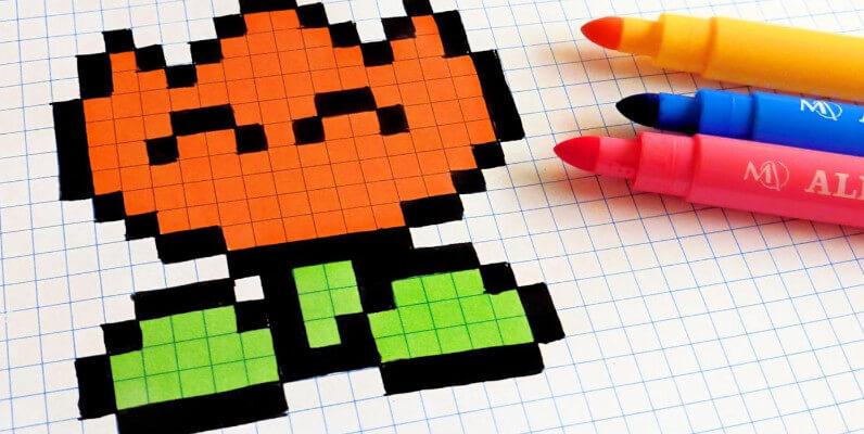 o que e pixel art